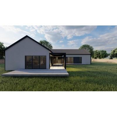 Moduláris ház, 5 szobás