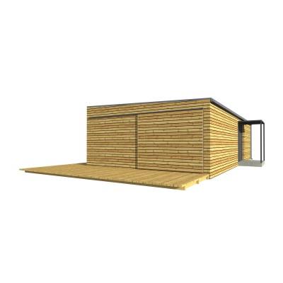 Moduláris ház, 2 szobás