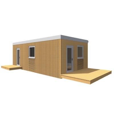 Moduláris ház, 1 szobás